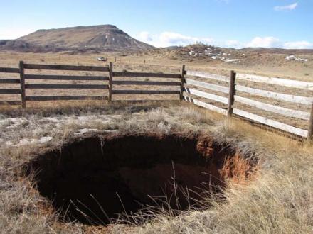 Colorado-Sinkhole